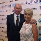Bob Wilson and his wife Megs before the Willow Foundation's London Football Awards 2017. Picture by