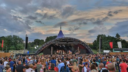 The main stage at Standon Calling 2016 [Picture: Kevin Richards]
