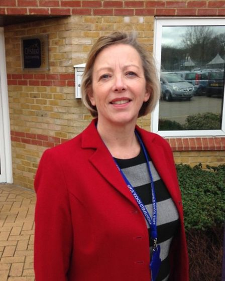 Headteacher Suzanne Thrower