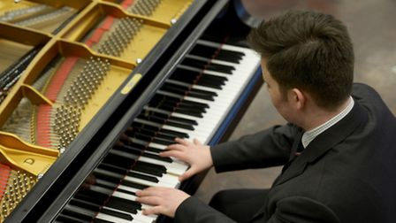 Miles Maclachlan, who goes to Wisbech Grammar School sixth form, has been made an organ scholar at S