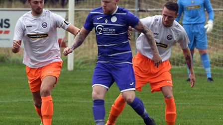 Nick Davey scored his 20th and 21st goals of the season in Wisbech St Mary's defeat to Braintree Tow