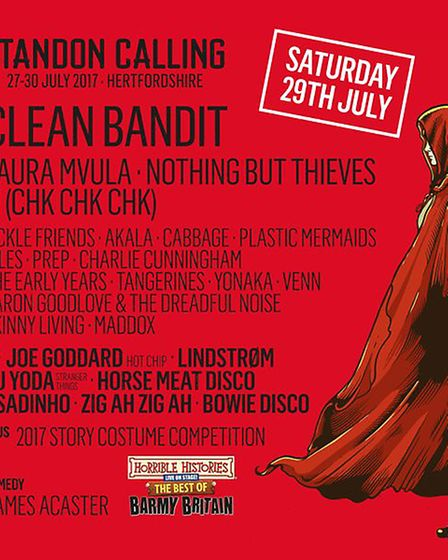 The Saturday line-up at Standon Calling 2017