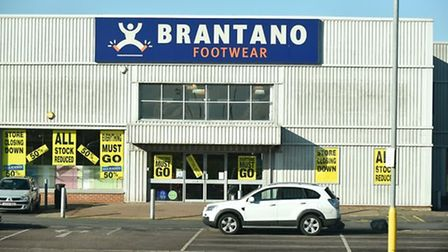 Shoe retailer Brantano, which has a store in Wisbech, has entered administration.