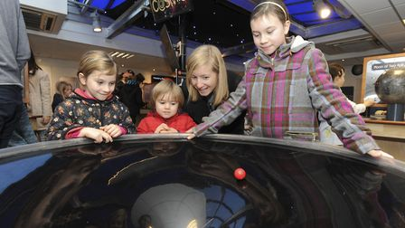 Interactive science exhibition COSMOS at Kings Lynn Town Hall this Easter