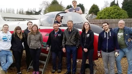 Uniformed and public service students from the College of West Anglia Wisbech campus have been lendi