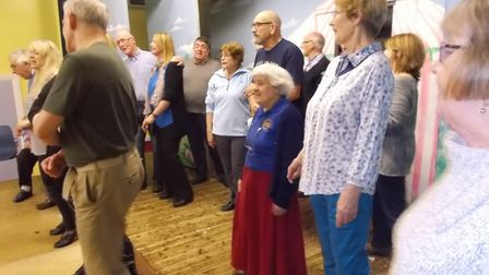 Members of Upwell Gilbert & Sullivan Society have been busy rehearsing for their production of opere