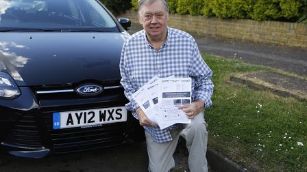 John West received several hospital parking fines for £100 each after his fathe'rs death at Barnet H