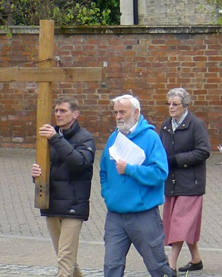 Wisbech Churches Together's Walk of Witness took place on Friday. PHOTO: Matt McChlery.