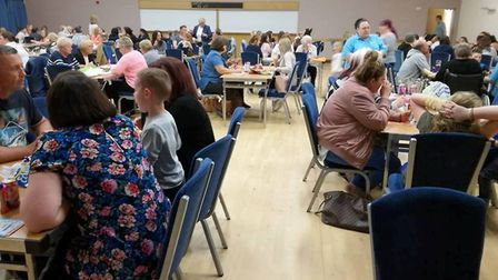 Charity bingo evening in Wisbech raises £1,000 for Little Miracles Fenland. PHOTO: Lisa Pearson.
