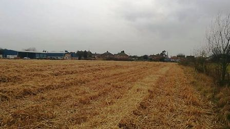 227 homes planned for this site at Sutton Road, Wisbech