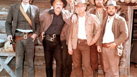 US actors, pose for a group portrait issued as publicity for the film, 'Butch Cassidy and the Sundan