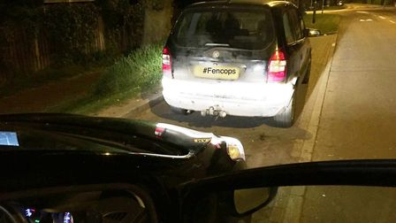 Driver without insurance or licence who admitted taking vehicle without owner's consent is arrested