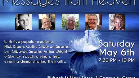 A night of mediumship at Wisbech St Mary