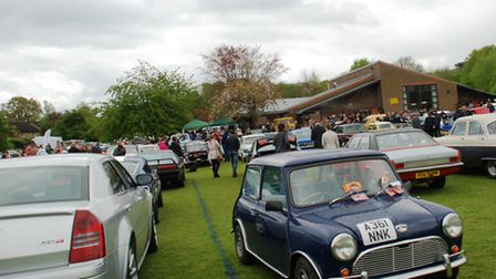 More than 160 vehicles were on display in Woolmer Green.