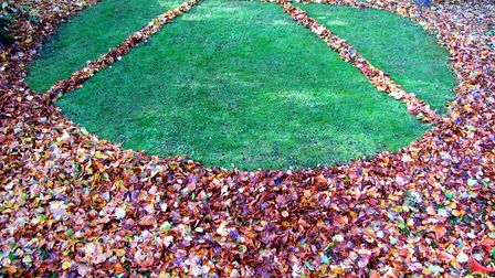Leaf Pi by Wisbech artist Alan Cossins. An exhibition of his work is at Greyfriars Art Space, 43 St