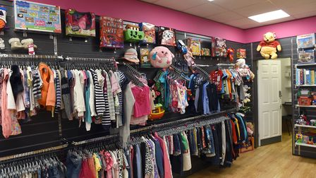 The interior of the new Wisbech Mencap store. PHOTO: Ian Carter