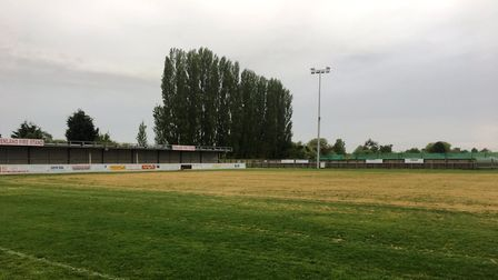 60 tonnes of sand has been spread on the pitch at Wisbech Town's Elgoods Fenland Stadium, with 30 mo