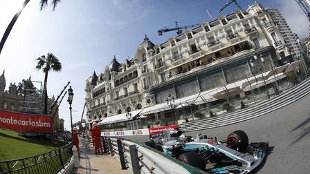 Lewis Hamilton driving around the famous Monaco Grand Prix circuit [Picture: Wolfgang Wilhelm for Da