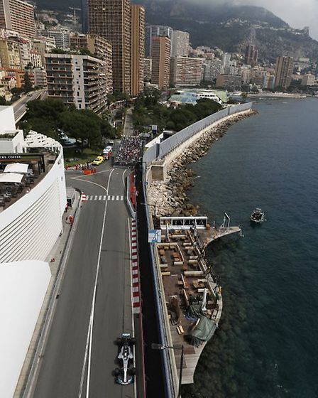 The Monaco Grand Prix circuit [Picture: Wolfgang Wilhelm for Daimler AG]