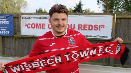 Wisbech Town have signed defender Danny Emmington from Wisbech St Mary. PHOTO: Spencer Larham