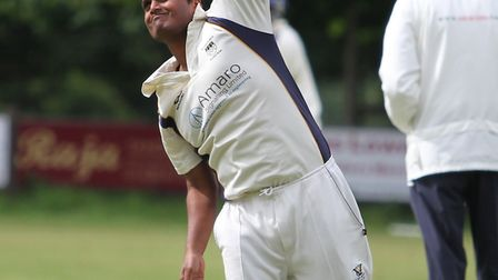 Parth Patel starred with 5-31 as Wisbech Town were halted in their chase of Whiting & Partners Divis
