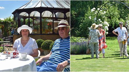 Wisbech St Mary Open Gardens raise £1,860 for charities