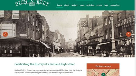 New website has been launched to promote the Wisbech High Street project.