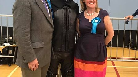 Grant Smith and Lord Buckethead.