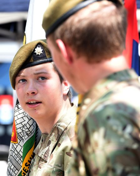 Armed forces day in Wisbech PHOTO: Ian Carter