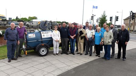 New watering bowser for Wisbech In Bloom PHOTO: Ian Carter