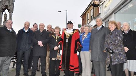 Dann's Clock was restored and returned to its original position in Bridge Street, Wisbech, in 2015.