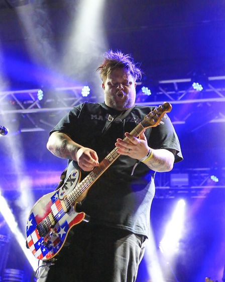 Bowling For Soup at Slam Dunk Festival South 2017 in Hatfield [Picture: Kevin Richards]
