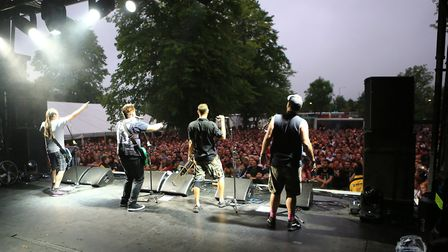Less Than Jake at Slam Dunk Festival South 2017 in Hatfield [Pictures: Kevin Richards]