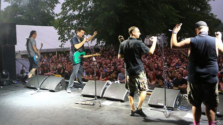 Less Than Jake at Slam Dunk Festival South 2017 in Hatfield at the University of Hertfordshire [Pict