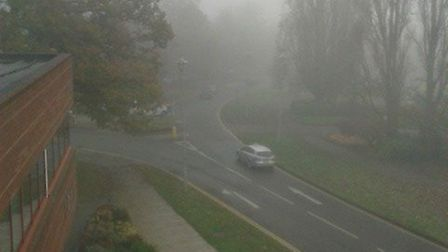The Met Office is continuing to issue a severe weather warning for Welwyn Garden City today.