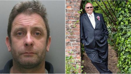 Six years for dangerous drink driver Stephen James (left) who killed 'larger than life' Wisbech man