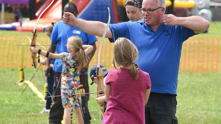 Marshland Archers hold an open day to encourage more members to join