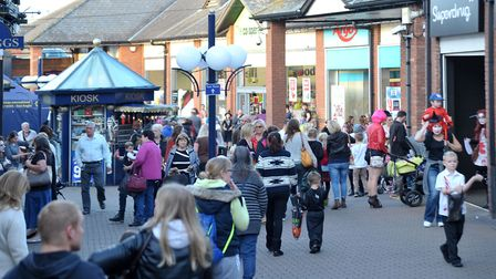 Horsefair shopping centre, Wisbech has taken advice from a child psychologist to help shoppers deal
