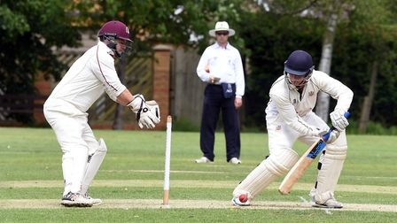 Danny Hayes could only find 15 runs in Wisbech's defeat to Foxton. PHOTO: Ian Carter