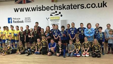 Skaters Roller Hockey Club's first friendly tournament is a success
