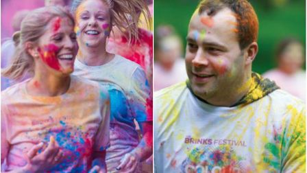 Throwback to last year's Brinks Festival Colour Run at Wisbech Park.
