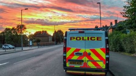 Police in Wisbech have arrested a naked woman. Picture: Cambridgeshire Constabulary