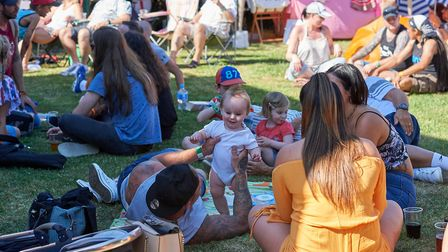 Macfest catered to all ages as they raised money to support Macmillan. Picture: Luke Duffell