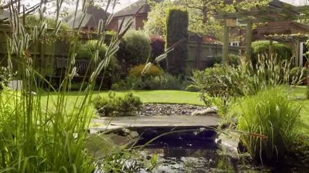 One of the gardens filmed by the BBC.