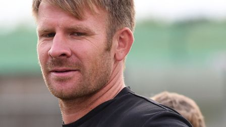 Simon Flanz has stepped down as Wisbech Town Reserves boss after only eight weeks in charge. PHOTO: