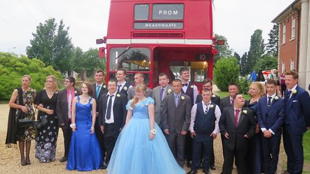 Glitz and glam at Elme Hall Hotel, Wisbech, as part of Meadowgate Academy prom