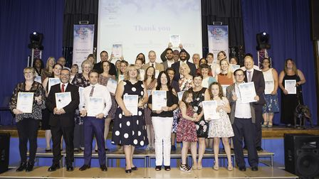 Welwyn Hatfield Times Community Awards 2017. Picture credit: Cathy Benucci Photography.