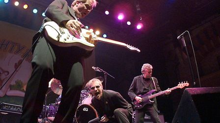 Pub rock legends Dr. Feelgood will headline the Wisbech Rock Festival on August 6.