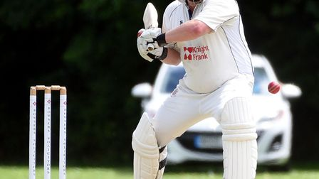 Gary Freear hit his 1,000th run this season in Wisbech's win over St Ives on Satruday. PHOTO: Ian Ca