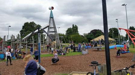 Play day event at The Spinney, Wisbech